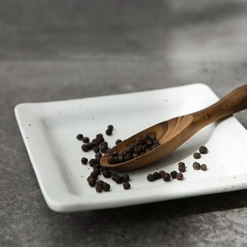 [소일베이커] J TABLE 딤 삼베 사각접시 소