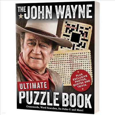 Media Lab Books - Media Lab Books John Wayne Ultimate Puzzle Book