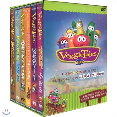 야채극장 베지테일 (Veggie Tales) 6종 묶음세트