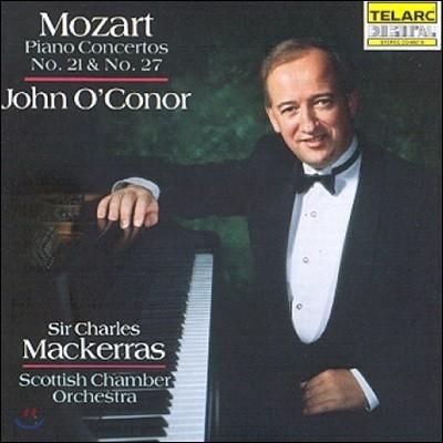 John O'Conor 모차르트: 피아노 협주곡 21번 '엘비라 마디간', 27번 (Mozart: Piano Concertos K.467 'Elvira Madigan', K.595)