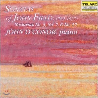 John O'Conor 존 필드: 피아노 소나타, 녹턴 (John Field: Piano Sonatas Op.1 Nos.1-3, Nocturnes)