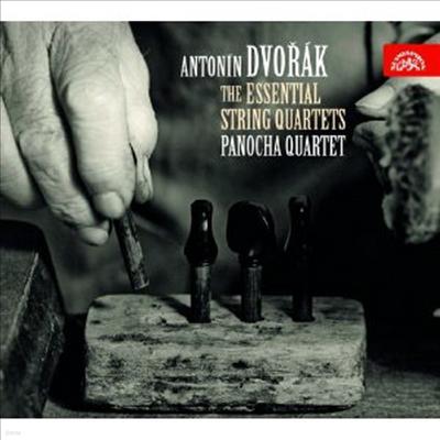 드보르작: 현악 사중주10-14번, 사이프레스 (Dvorak: String Quartet No.10-14, Cypresses) (3CD) - Panocha Quartet