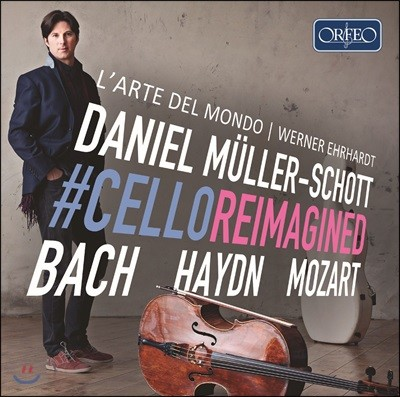 Daniel Muller-Schott 다니엘 뮐러-쇼트 첼로용 편곡 협주곡 (CelloReimagined - Bach, Haydn, Mozart)
