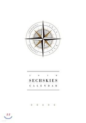 젝스키스 (Sechskies) 2018 Official Wall Calendar