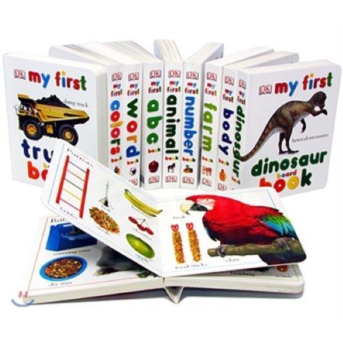 DK 유아 보드북 10종 세트 : DK My First Board Book Set