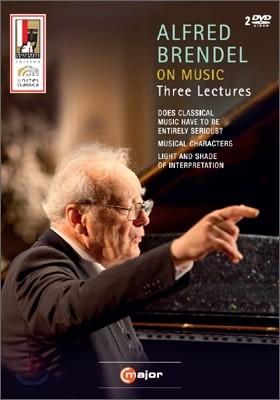 Alfred Brendel 알프레드 브렌델의 3개의 음악강연 (On Music Three Lectures)
