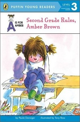 A is for Amber : Second Grade Rules, Amber Brown