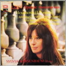 [LP] Sylvia Kersenbaum - Liszt : Hexameron Three Operatic Transcriptions (수입/hqs1342)