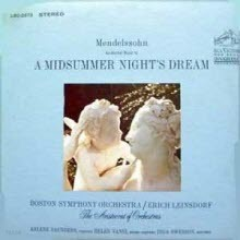 [LP] Arlene Saunders, Erich Leinsdorf - Mendelssohn : A Midsummer Night's Dream (수입/lsc2673)