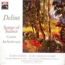 [LP] Charles Groves - Delius : Songs of Sunset (수입/asd2437)