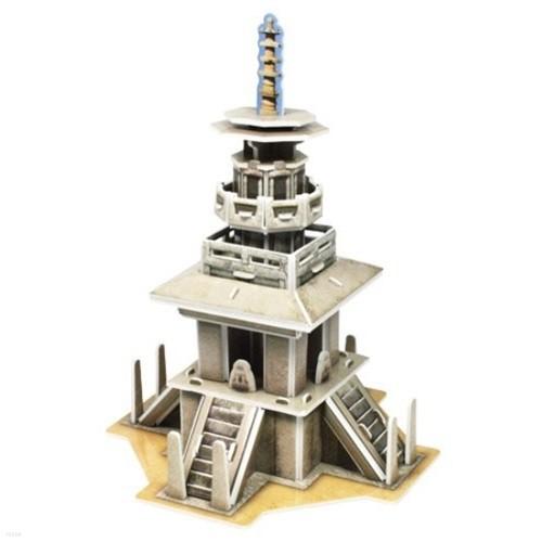 종이입체퍼즐 크래커 아름다움을 가진 석탑 다보...
