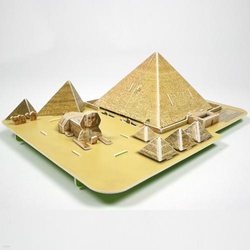 종이입체퍼즐 크래커 8000피라미드