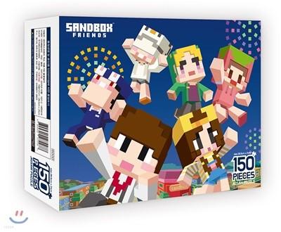 샌드박스 프렌즈 직소퍼즐 150 불꽃놀이