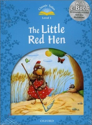 Classic Tales Level 1-6 : The Little Red Hen (MP3 pack)