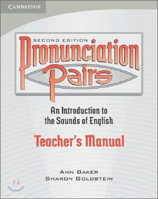Pronunciation Pairs : Teachers Manual