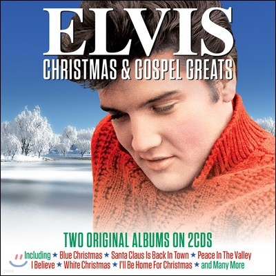 Elvis Presley (엘비스 프레슬리) - Christmas & Gospel Greats
