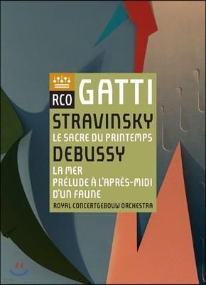 Daniele Gatti 스트라빈스키: 봄의 제전 / 드뷔시: 바다, 목신의 오후 전주곡 (Stravinsky: Le Sacre du Printemps / Debussy: La Mer, Prelude a l'Apres-Midi d'un Faune)