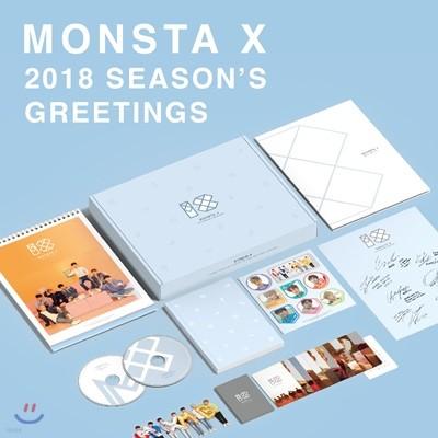 몬스타엑스 (MONSTA X) 2018 시즌 그리팅