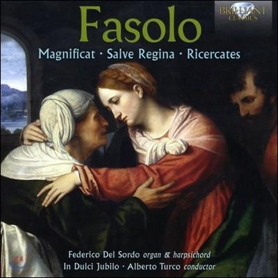 Federico Del Sordo 파솔로: 매그니피캇, 살베 레지나, 리체르카테 (Giovanni Battista Fasolo: Magnificat, Salve Regina, Ricercates)
