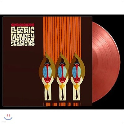 New Cool Collective - Electric Monkey Sessions [골드& 레드 믹스 컬러 LP]