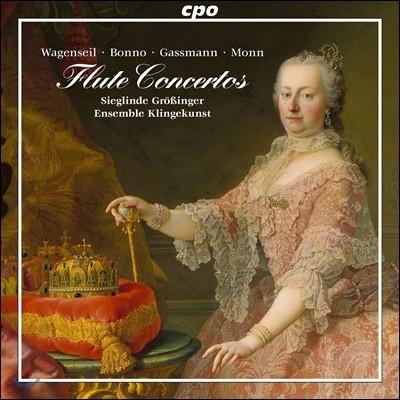 Sieglinde Grossinger 빈 고전주의 시대의 플루트 협주곡 - 바겐자일 / 보노 / 가스만 / 몬 (Flute Concertos from Vienna)