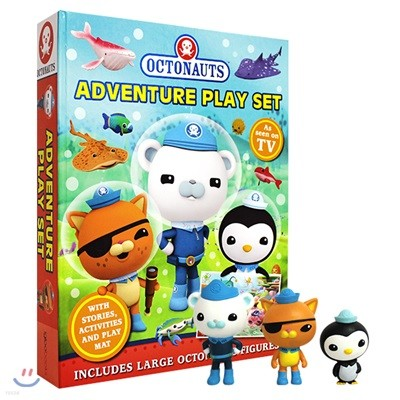Octonauts Adventure Play Set - 토이북