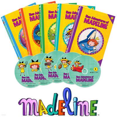 뉴매들라인 New Adventures of Madeline 5종세트 : 칼데콧 아더상 수장작