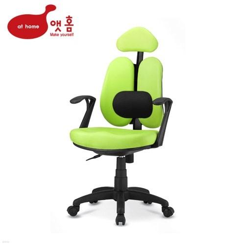 [무료배송] 앳홈 센스 인조가죽 [해더형+요추] 의자