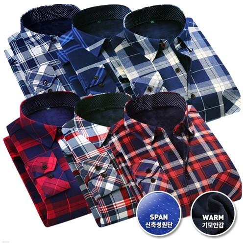 레디핏 겨울 기모안감 셔츠 12종