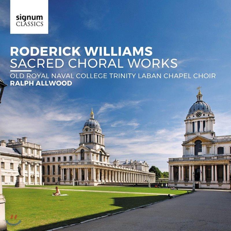 Ralph Allwood 로데릭 윌리엄스: 종교 합창 작품집 (Roderick Williams: Sacred Choral Works)