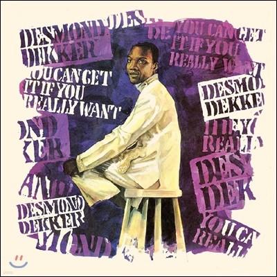 Desmond Dekker (데스몬드 데커) - You Can Get It If You Really Want [블랙&블루 마블 컬러 LP]