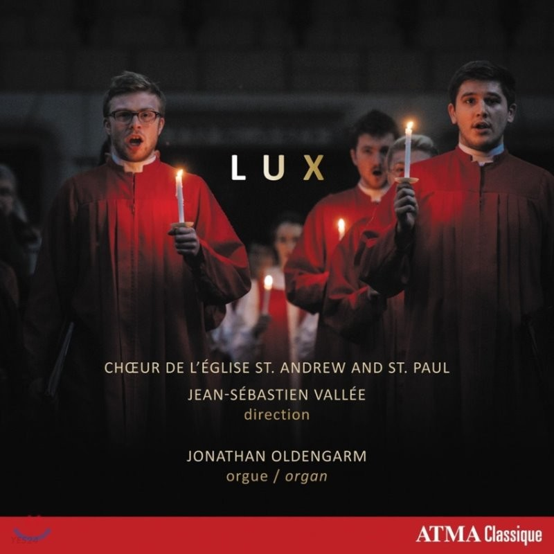 Choir of St. Andrew & St. Paul Church 룩스 - 성탄 합창 음악집 (Lux)