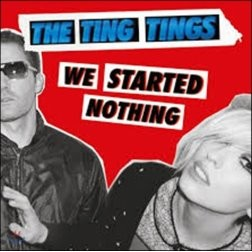 The Ting Tings - We Started Nothing 팅팅스 데뷔 앨범 [블랙 디스크 LP]