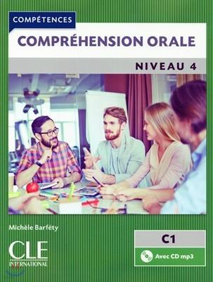 Comprehension orale 4 (+CD MP3)