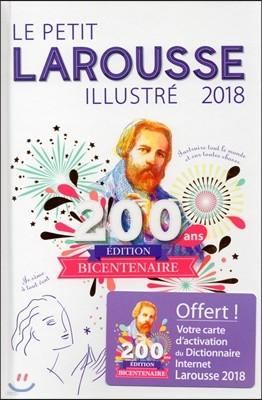 Le Petit Larousse illustre 2018 : 사전 제작자 200주년 기념 한정판