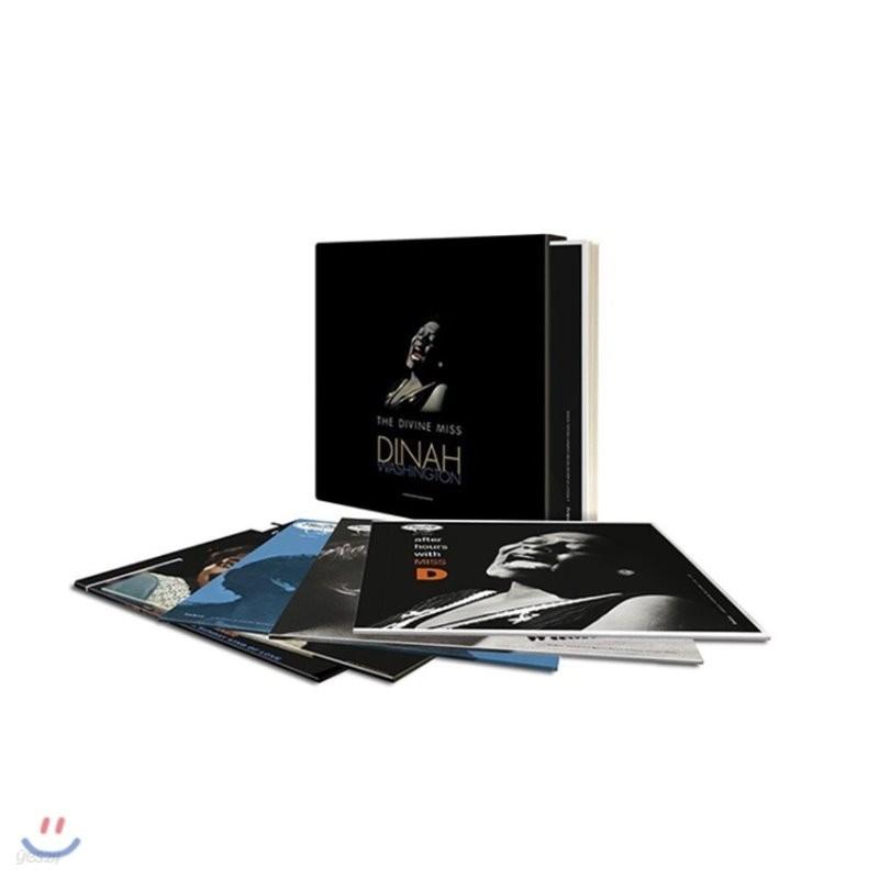 Dinah Washington (다이나 워싱턴) - Divine Miss Dinah Washington [5 LP Limited Edition]