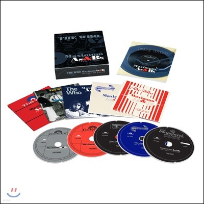 Who - Maximum A's & B's: The Complete Singles [5CD Box Set]