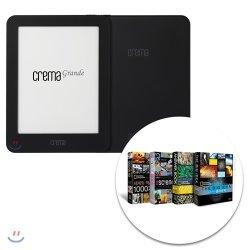 예스24 크레마 그랑데 (crema grande) : 블랙 + New 내셔널지오그래픽 세상의 모든 지식 4종 eBook 세트