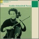 Annlies Schmidt de Neveu 안리스 슈미트 드 느뵈 미발표 녹음 1집 (Unissued Recordings Vol.1) [LP+CD]