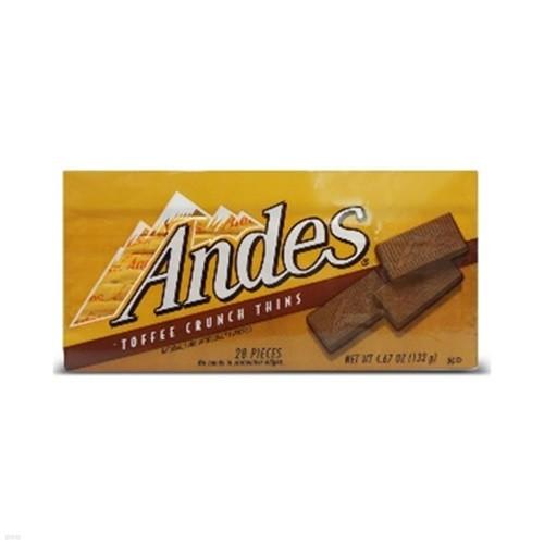 앤디스 토피 크런치 띤 초콜릿 132g