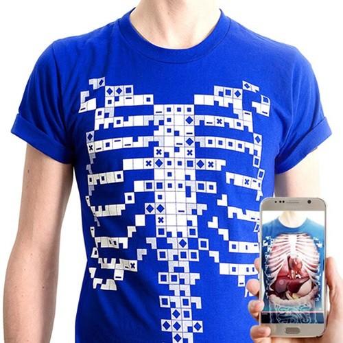 [DEVAR] 4D 인체교육용 AR 티셔츠 Virtuali-Tee 버추얼리티