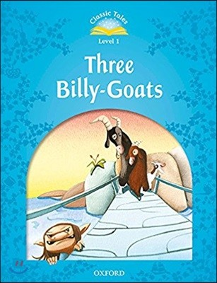 Classic Tales Level 1-10 : Three Billy-Goats (MP3 pack)