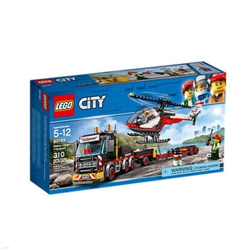 [레고 시티] 60183 중량 화물 수송차