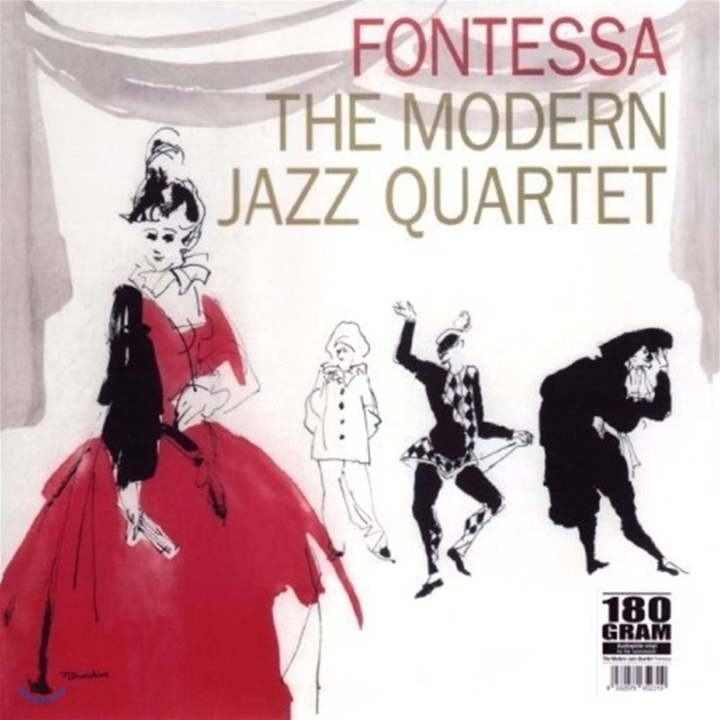 Modern Jazz Quartet (모던 재즈 쿼텟) - Fontessa [LP]