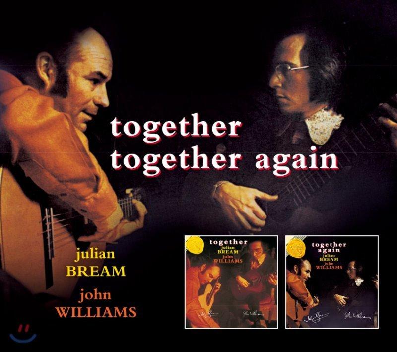 Julian Bream / John Williams - Together + Together Again 줄리언 브림, 존 윌리암스 기타 이중주