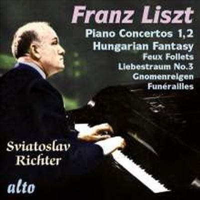 리스트: 피아노 협주곡 1, 2번 (Liszt: Piano Concerto No.1 & 2)(CD) - Sviatoslav Richter