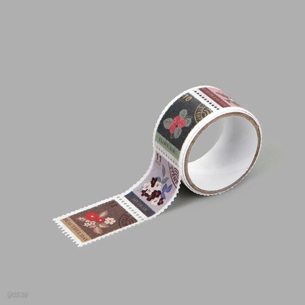 Masking tape : stamp - 08 Flower