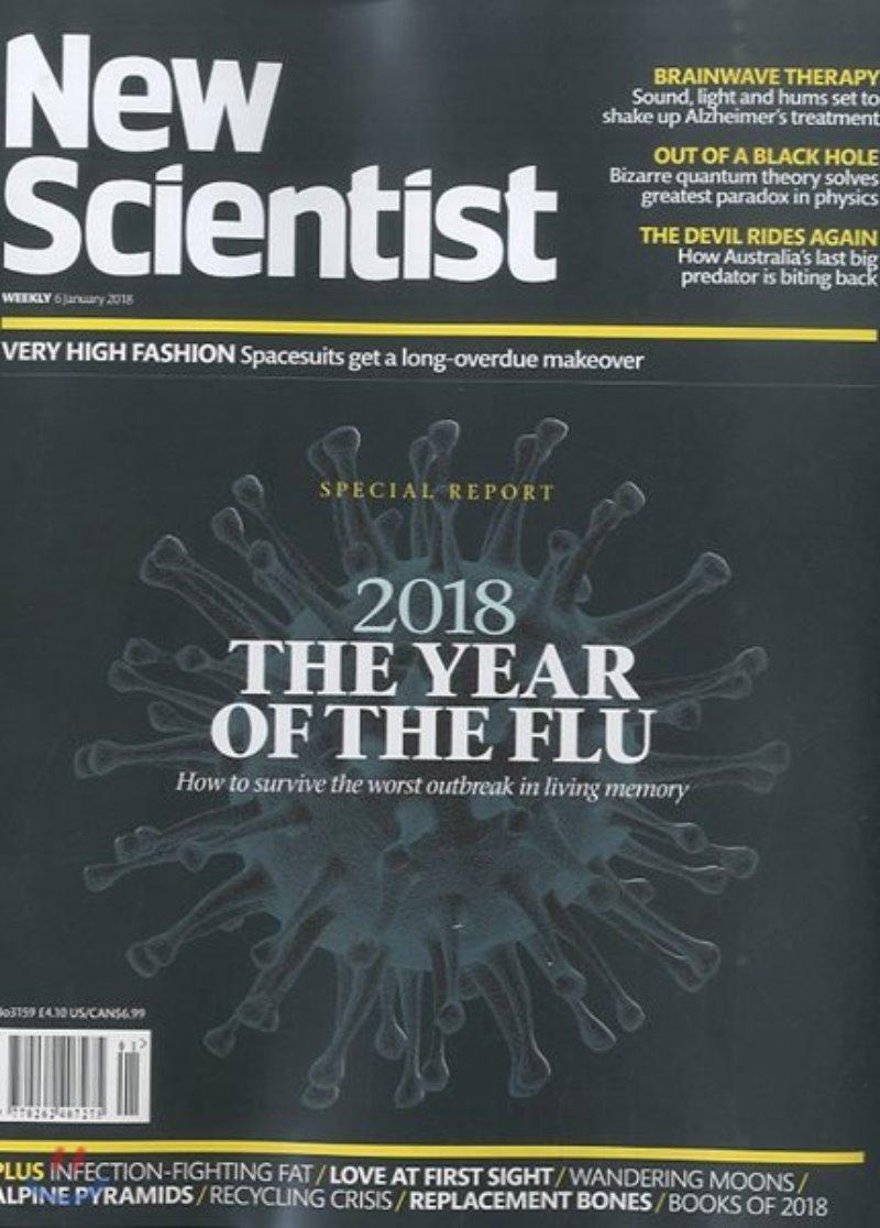New Scientist (주간) : 2018년 01월 06일