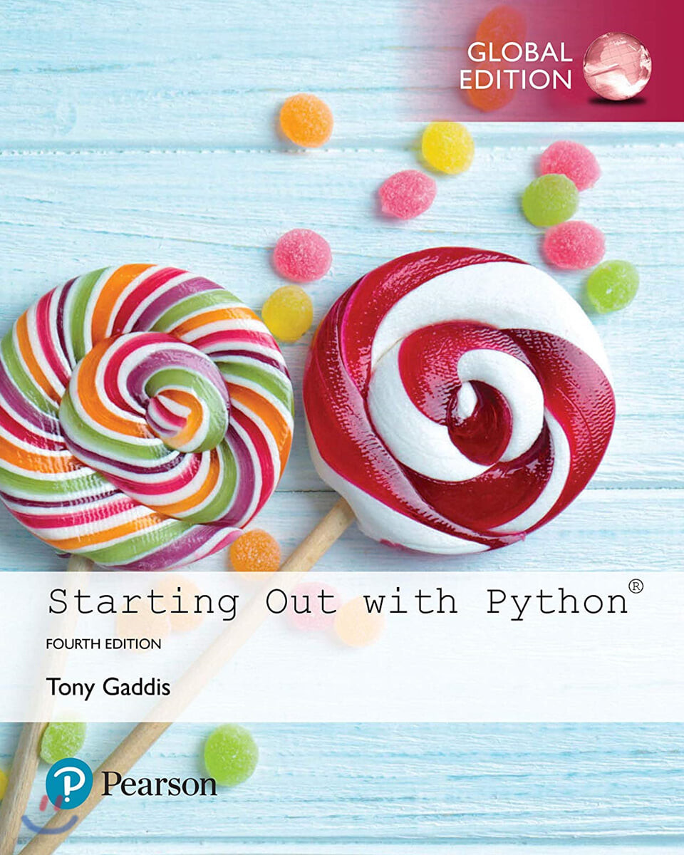 Starting Out with Python, 4/E
