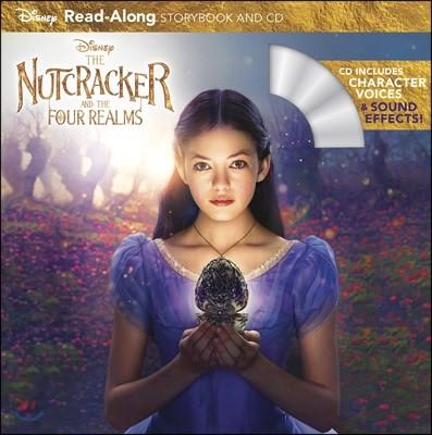 The Nutcracker and the Four Realms : Read-Along Storybook and CD : 디즈니 '호두까기 인형과 4개의 왕국' 리드얼롱 스토리북